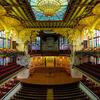 Interior Of Palau De La Música Catalana