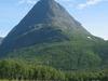 Innerdalstårnet Seen From Innerdalen