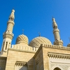 Jumeirah Mosque Domes & Minarets In Dubai