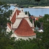 Kazimierz Dolny Town Overlooking Serene Vistula