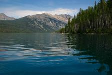 Kintla Lake Campground -Glacier -Montana - USA