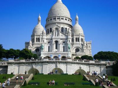 Basilica Of The Sacred Heart Of Jesus Of Paris