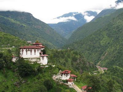 Lhuentse  Dzong