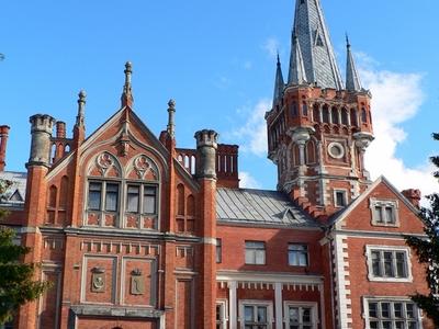 Tyszkiewicz Palace In Lentvaris