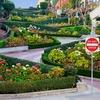 Lombard Street In San Francisco CA