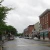 Looking West On Main Street