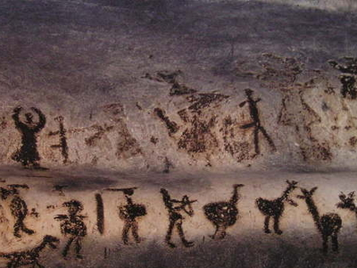 Drawings In The Magura Cave