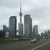 Looking East At The CN Tower