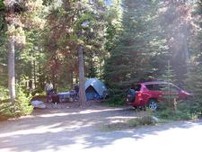 Many Glacier Campsite - Glacier - Montana - USA