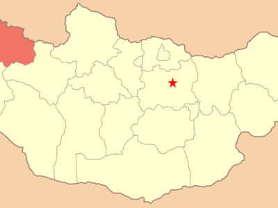 Map Mn Uvs Aimag