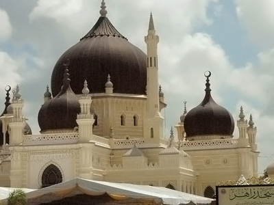 Masjid Zahir - Architectural Landmarks