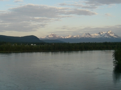 Målselv River And Valley