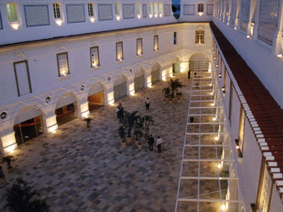Inner Patio Of The National Historical Museum