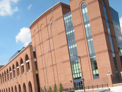 The New West Side Structure At Michigan Stadium