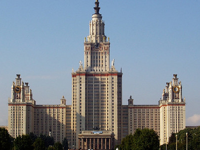Moscow State University Main Tower