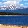 Mount Elbert Seen From Turquoise Lake