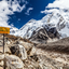 Mount Everest Base Camp Signpost In Himalayas, Nepal