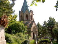 Mór Perczel's grave and Ermel-Vojnits chapel