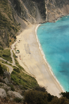 Myrtos Beach Kephalonia Greece