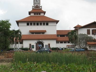 Main Entrance To The Balme Library