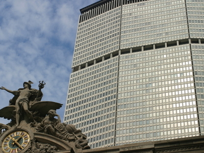 A View Of The MetLife Building