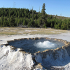New Crater Geyser