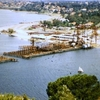 Narrows Bridge Under Construction