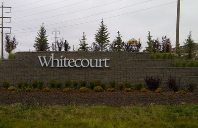 Official Logo Of Whitecourt