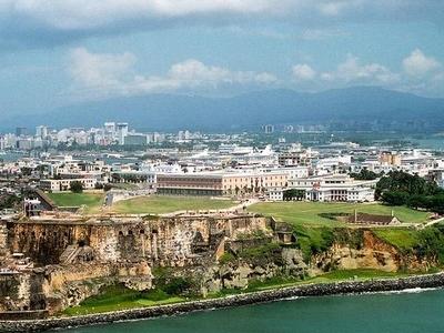 Old San Juan Aerial View