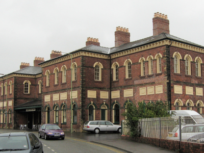Oswestry     The Former Station And  Cambrian  Railways Headquar