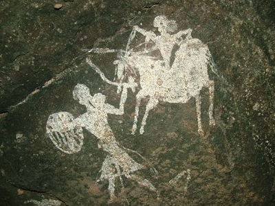 Pachmarhi Rock Art Paintings