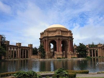Palace Of  Fine  Arts At San Francisco
