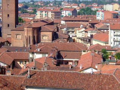Panorama Of Chieri