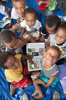 Papua New Guinea - Native School Children