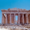 Parthenon From West In Athens