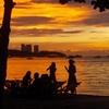 Pattaya Beach At Sunset