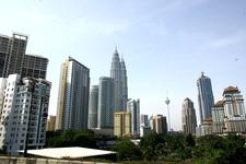 Petronas Twin Towers - City View