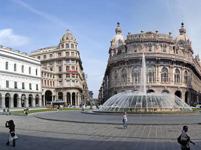 Piazza Di Ferrari  Genoa