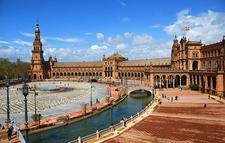 Plaza De España In Seville - Andalusia