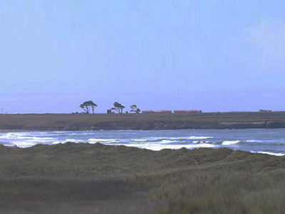 Point Arena Lighthouse From Manchester State Beach