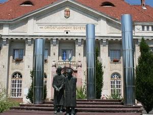 Professors Statue Composition