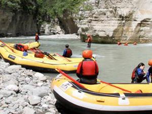 Rafting in the Osumi Kanyon Photos