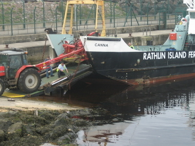 Rathlin  Island Ferry At  Ballycastle