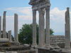 Reconstructed Temple Of Trajan At Pergamon