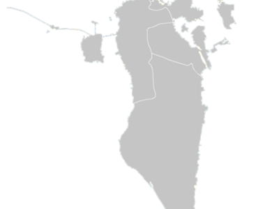 Regional Map Of Bahrain