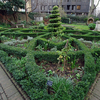 Restored Knot Garden At The Museum