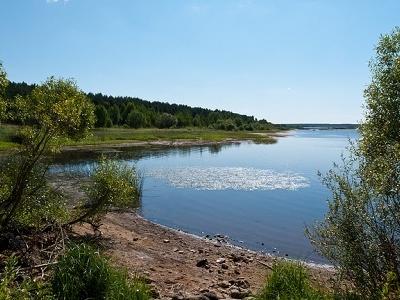 River Volga Near Kobostovo