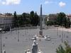 The Piazza Del Popolo