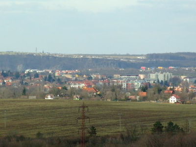 Roztoky Seen From Prague Imice