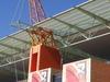 Roof Supports Of  Mbombela  Stadium In  Nelspruit